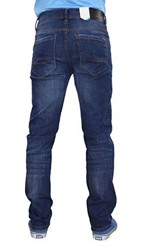Herren Crosshatch Marvin Jeans Stone Wash