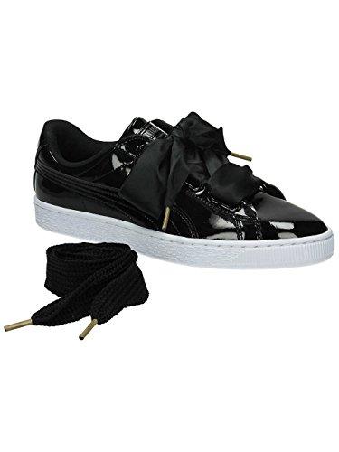 puma-basket-heart-patent-wns-zapatillas-para-mujer-negro-puma-black-puma-black-40-eu
