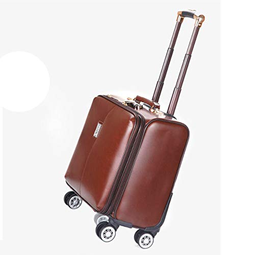 CX TECH 23,62-Zoll-Rollkoffer mit 8 Spinner-Rädern Leichter Spinner Mobile Office Carry On Luggage-Koffer für den klassischen Boarding-Trolley -