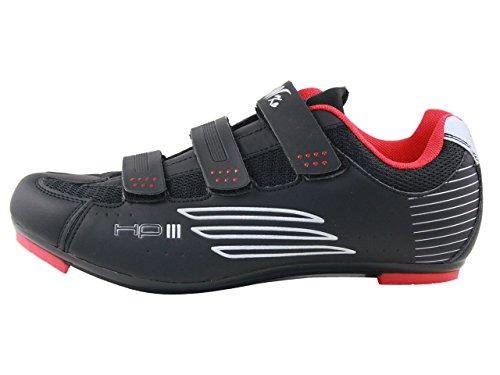 Raiko Sportswear HP3Scarpe per bici da corsa nero