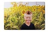 Kopierladen Holzpuzzle mit eigenem Foto selbst gestalten inkl. Geschenkbox, Fotopuzzle aus Holz mit individuellem Motiv, 20 Teile, ca. 290 x 195 mm