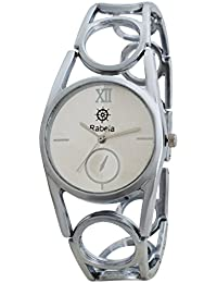 Rabela ® Women's Analogue off-White Dial Watch RAB-861
