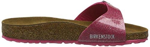 Birkenstock Madrid Birko-Flor, Mules Femme Pink (MAGIC Galaxy Bright Rose)