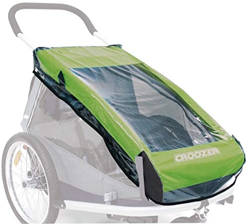 Croozer Unisex- Erwachsene Regenverdeck-3092025300 Regenverdeck, Transparent, One Size