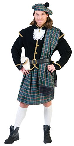 ,Karneval Klamotten' Kostüm Schotte Comora Herr Kostüm Karneval Kilt Herrenkostüm Größe (Braveheart Kinder Kostüm)