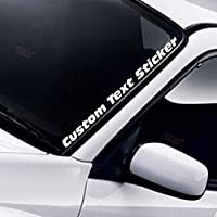 Custom Car Sticker Personalised Car Name Lettering Stickers Vinyl Windscreen Decal