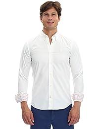 GALVANNI Olav, Camisa Casual para Hombre