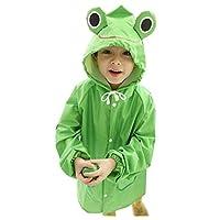 Korean Lovely Baby Raincoat Fashion Children Rainwear Frog M