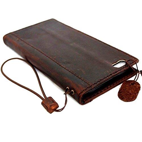 """En cuir vintage fait main pour apple iphone 6 4,7 """"spécial portefeuille rétro de luxe pour carte d'identité"""