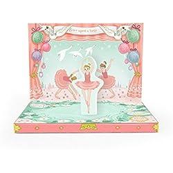 my design co Music Box Card, Ballerina Dream (MDC17069)