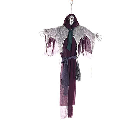 Kerl Guter Kostüm Halloween - Xyxiaolun Halloween-Stützen, hängende Innen- und Außendekoration der beängstigenden Stützenparty des Horrorgeisterraumes der halben Körperhautpflege