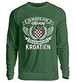 Kroatien Shirt/Ich Brauche Keine Therapie ich muss nur nach Kroatien/Hrvatska - Unisex Pullover
