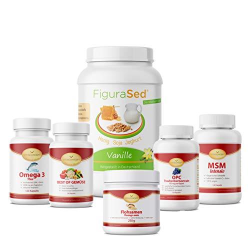 HCG-Diät * 21 Tage Stoffwechselkur * Komplettpaket inklusive FiguraSed * entwickelt von Ärzten und Ernährungsexperten von VITACONCEPT *