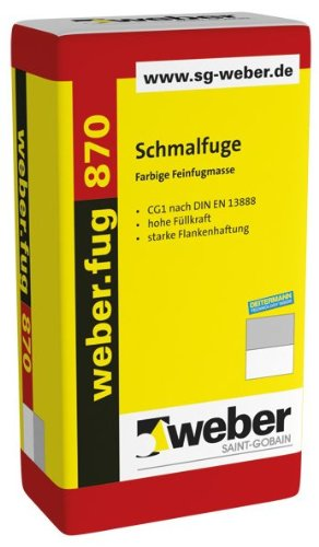 weber.fug 870 - Schmalfuge