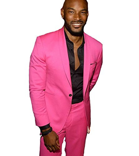 Leader of the Beauty -  Giacca da abito  - Uomo Hot Pink