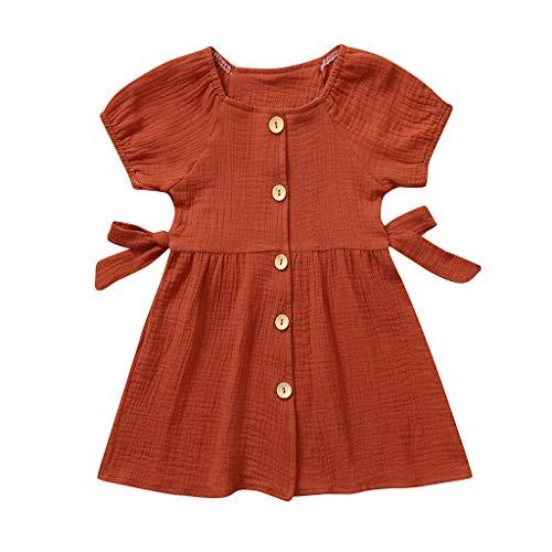Day.LIN Baby Mädchen, Neugeborenes Baby MäDchen Spitze Floral Strampler Body Sleeeless Kleidung Outfits