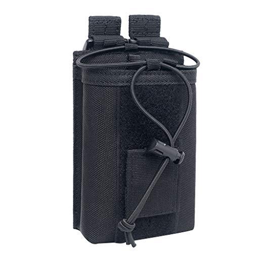 SM SunniMix Walkie-Talkie-Handheld-Schutz Hülle für Baofeng BF888S OX - Schwarz