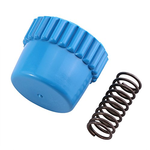 Juego de accesorios de muelles de metal de nailon para cabezal de cortacésped Husqvarna de alta fiabilidad...