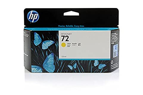 HP DesignJet T 1300 44 Inch - Original HP / C9373A / Nr. 72 Tinte Yellow -