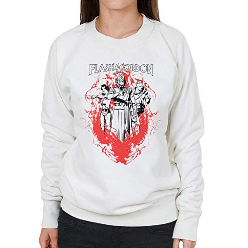 Comics Kingdom Flash Gordon Flame Trio Women's Sweatshirt -