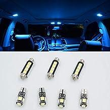 7pcs hielo azul LED SMD CANBUS interior luz Kit lámpara para T5 T5.1 T6