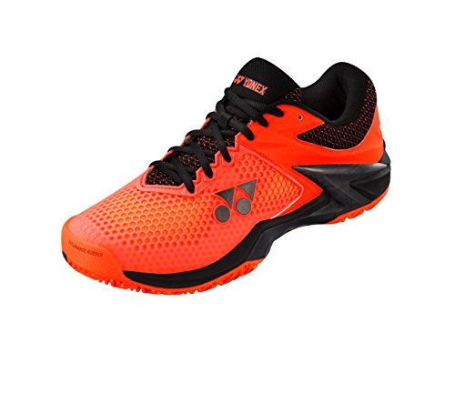 Yonex Uomini Power Cushion Eclipsion 2 Scarpe Da Tennis Scarpa Per Tutte Le Superfici Arancione - Nero 44,5