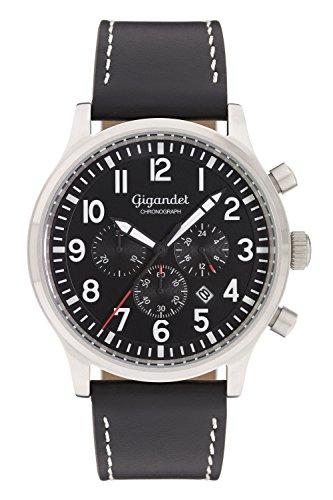 Gigandet Destination Montre Homme Chronographe Analogique Quartz Noir G15-001