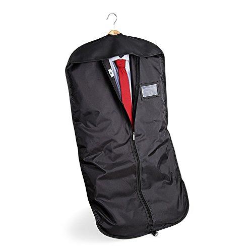 Quadra hombre qd031blac Deluxe traje cubierta, negro, un tamaño