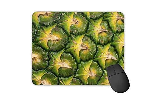 rutschfeste Gummi-Rechteck-Mausunterlagen,Ananasschale Frisches Obst (Maca Obst)
