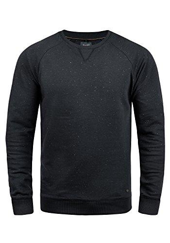 Blend Zlatan Herren Sweatshirt Pullover Pulli Mit Rundhalsausschnitt, Größe:M, Farbe:Black (70155) -
