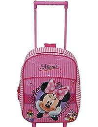 Childrens Premium Minnie Mouse mochila trolley bolsa maleta