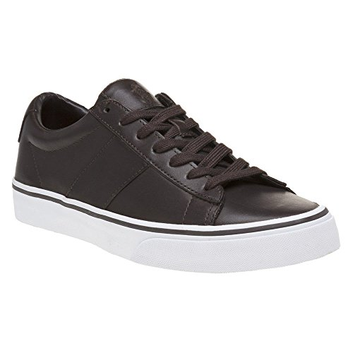 Polo Ralph Lauren Sayer Homme Baskets Mode Marron