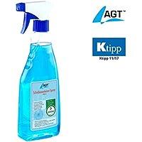 AGT Enteiser: Scheibenenteiser, 500 ml, Dekra-geprüft, schützt vor Wiedervereisung (Enteiser Spray)