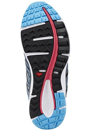 Salomon Schuhe X-Scream GTX Gore-Tex 369811 Blau Laufschuhe Blue Line Blau Hellblau-Grau