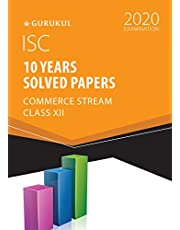 ISC 10 YEARS SOLVED PAPERSCOMMERCE - XII 2019