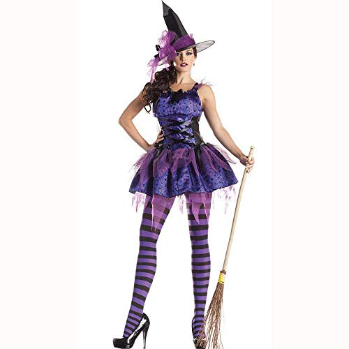LBFKJ Costume Cosplay, Halloween Anime Sexy Strega Costume Demone, Discoteca DS Prestazioni Uniformi M