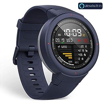 xiaomi AMAZFIT Verge SMARTWATCH con Alexa integrada, Azul 1.3 AMOLED WiFi GPS Bluetooth 5 DÍAS DE AUTONOMÍA 4GB/512MB, Adultos Unisex