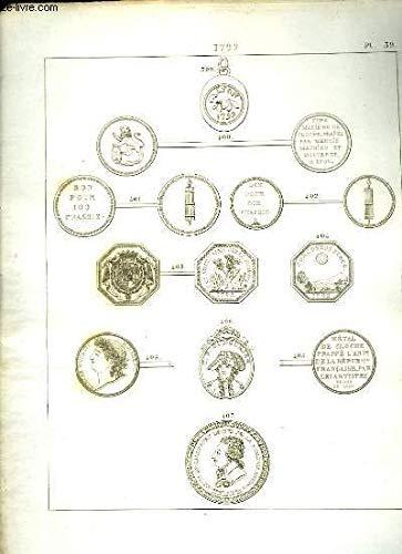 Histoire Numismatique de la Révolution Française. Planche N°39 : 1792 par HENNIN et VERAN