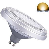 Generic dimmerabile GU10AR11115W 30° bianco caldo 3000K SMD LED Lampadina AC175–265V spot giù riflettore luci 1200LM