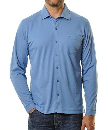 RAGMAN Herren RAGMAN Poloshirt durchgeknöpft Jeans-078