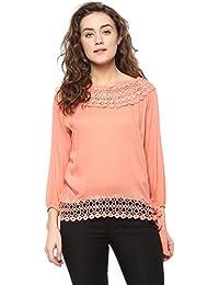 Mayra Women's Plain Regular Fit Top