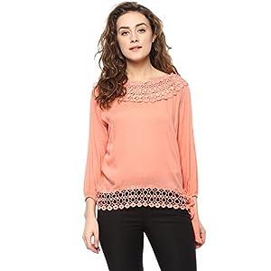 Mayra Women's Plain Regular Fit Top 1
