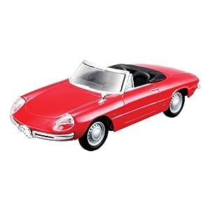 Bburago 15643211 - Alfa Romeo Spider, Coche de escala 1:32