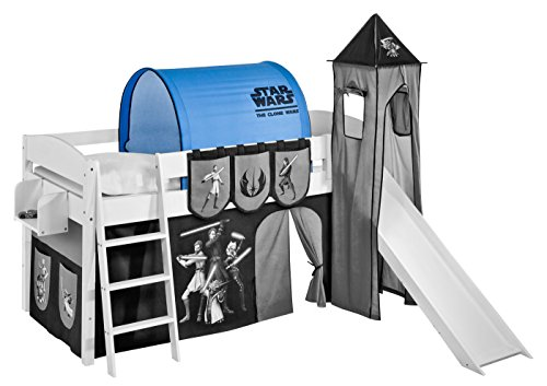 Tunnel Star Wars the Clone Wars - pour Lit mezzanine et Lit superposé