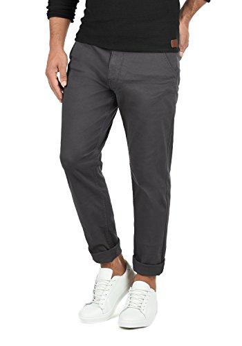 Blend Kainz Herren Chino Hose Stoffhose Aus Stretch-Material Regular Fit, Größe:W36/32, Farbe:Ebony Grey (75111)