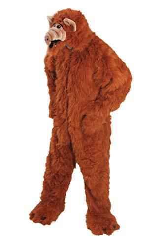 Kostüme Plüsch Alf 180cm Erwachsenen (Alf Kostüm Maske)