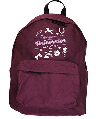 HippoWarehouse Son Cosas de Unicornios kit mochila Dimensiones: 31 x 42 x 21 cm Capacidad: 18 litros