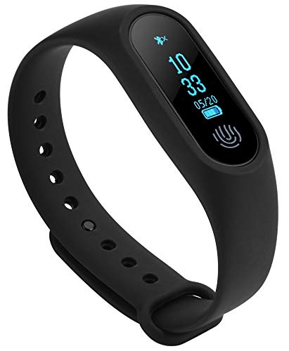 Rewy SM-2 Bluetooth V4.1 Smart-Band with Heart-Rate Analysis | Sports Activity Sensor Compatible with All Android,iOS & Windows Device (Assorted Colour)
