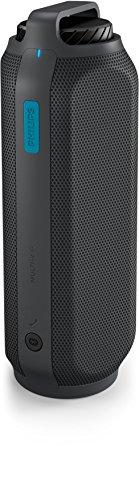 Philips BT7700 Enceinte Bluetooth portable puissante avec son 360°, powerbank smartphones, résistance éclaboussures, 12h d'autonomie, 16W, Gris et Bleu