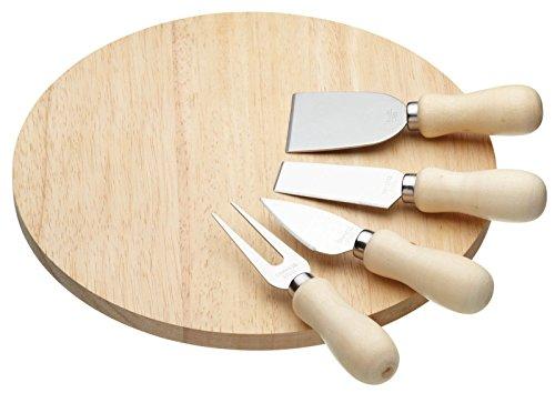 Kitchen Craft Servierbrett-Set, 5-teitig (Klinge Die Tray Und Ist)